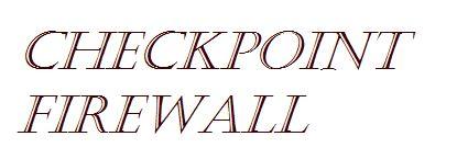 Checkpoint Firewall Backup Process GAIA R77 – SanchitGurukul